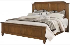 Arrendelle Antique Cherry Mansion Bed