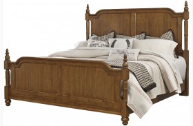 Arrendelle Antique Cherry Poster Bed