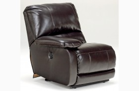 Capote DuraBlend Chocolate LAF Power Recliner