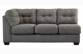 Maier Charcoal Left Arm Facing  Sofa