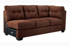 Maier Walnut Right Arm Facing Sofa