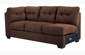 Maier Walnut Left Arm Facing Sofa