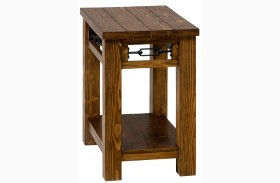 San Marcos Rectangular Chairside Table