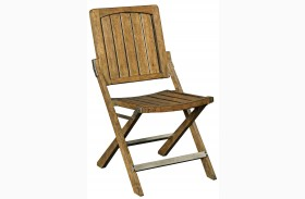 New Vintage Brown Wood Cafe Chair