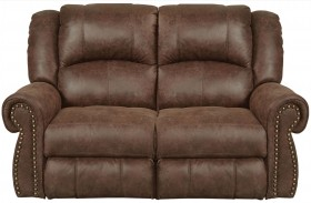 Westin Tanner Finish Rocking Reclining Loveseat