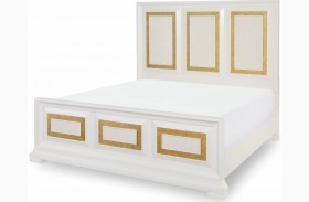 Tower Suite Pearl Panel Bed
