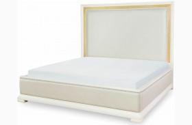 Tower Suite Pearl Upholstered Platform Bed