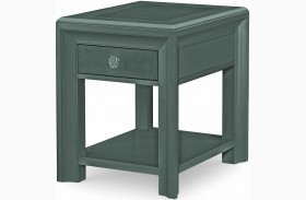 Tower Suite Moonstone Chairside Table