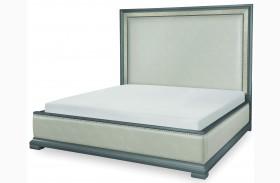 Tower Suite Moonstone Upholstered Platform Bed