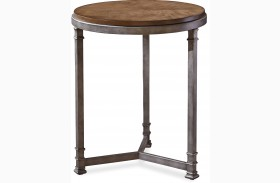 Remix Bannister Finish Chair Side Table