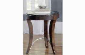 Avalon Dark Truffle Occasional Table