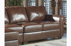 Lugoro Saddle Finish RAF Loveseat