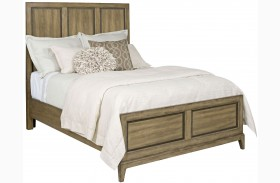 Evoke Barley Panel Bed