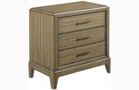 Evoke Barley Finish Nightstand