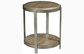 Evoke Barley Finish Accent Table