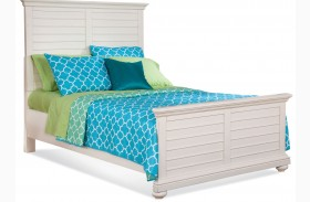 Pathways White Youth Panel Bed