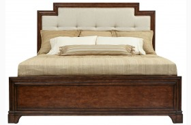 Tilden Hearth Upholstered Panel Bed