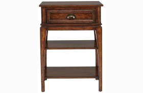 Tilden Hearth Finish Telephone Table