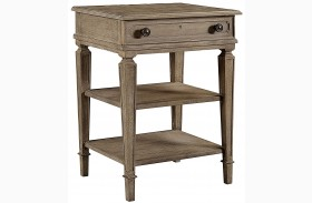 Wethersfield Estate Brimfield Oak Finish Telephone Table