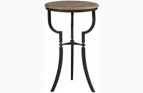 Wethersfield Estate Brimfield Oak Finish Martini Table