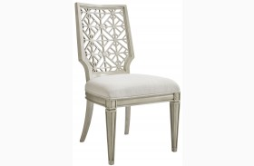 Coastal Living Oasis Oyster Finish Catalina Side Chair
