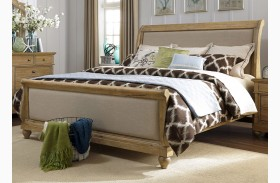 Harbor View Sand Sleigh Bed