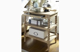 Harbor View Sand Finish Open Nightstand