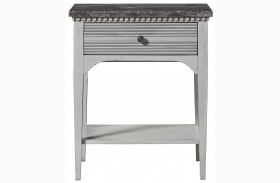 Sojourn Gray Lake Finish Night Table