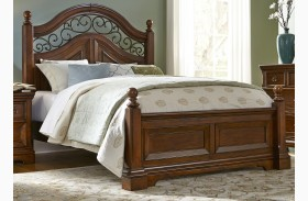Laurelwood Chestnut Poster Bed