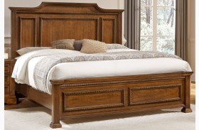 Affinity Antique Cherry Mansion Bed