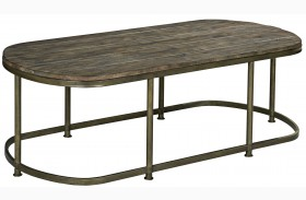 Leone Weathered Barn Cocktail Table