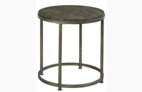 Leone Weathered Barn End Table