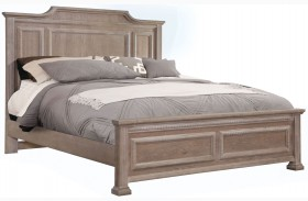 Affinity Reclaimed Gray Mansion Bed