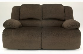 Toletta Chocolate Loveseat