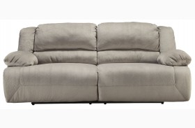Toletta Granite Finish 2 Seat Reclining Sofa