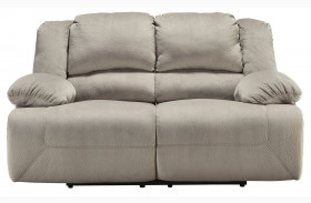 Toletta Granite Finish Reclining Loveseat