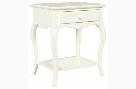 Teaberry Lane Stardust Finish Bedside Table