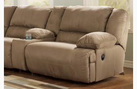 Hogan Mocha RAF Wall Recliner