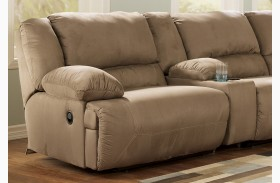 Hogan Mocha LAF Wall Recliner