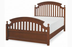Academy Cinnamon Youth Panel Bed