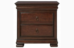 Reprise Classical Cherry Finish Nightstand