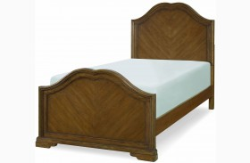 Danielle French Laundry Youth Sweetheart Panel Bed