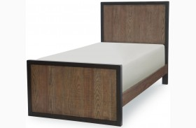 Fulton County Tawny Brown Youth Panel Bed