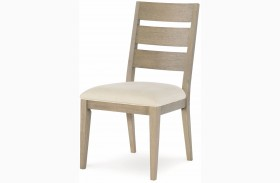 High Line Greige Dining Side Chair Set of 2