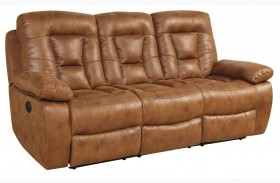 Evensky Saddle Finish Reclining Sofa
