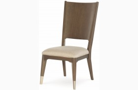 Soho Ash Finish Dining Side Chair Set of 2