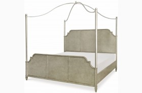 Upstate Conciare Metal Canopy Bed