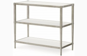 Upstate Bianco Finish Book Table
