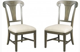 Greyson Fulton Splat Back Dining Side Chair Set of 2
