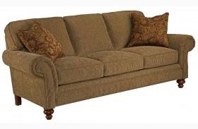 Larissa Cherry Stain Chenille Fabric Sofa